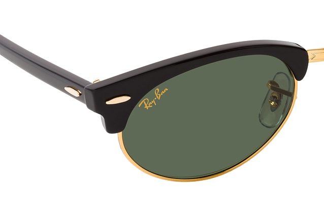 Ray-Ban Clubmaster Oval RB 3946 130331 Perspektivenansicht