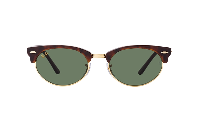 Ray-Ban Clubmaster Oval RB 3946 130431 Perspektivenansicht