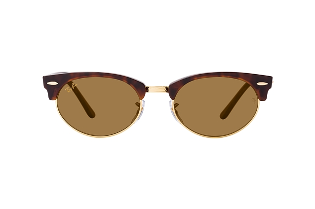 Ray-Ban Clubmaster Oval RB 3946 130457 Perspektivenansicht