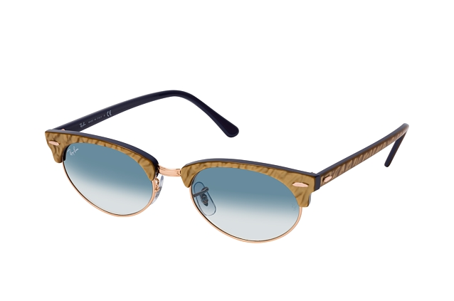 Ray-Ban Clubmaster Oval RB 3946 13063F perspective view