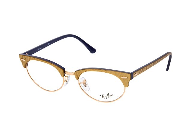 Ray-Ban Clubmaster Oval RX 3946V 8051 Perspektivenansicht