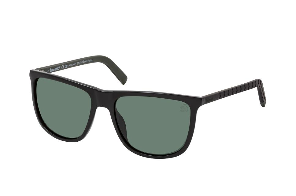 timberland -  TB 9221 01R, Quadratische Sonnenbrille, Herren, polarisiert, in Sehstärke erhältlich