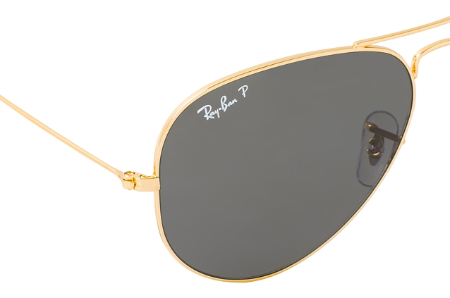Ray-Ban Aviator large RB 3025 9196/48 Perspektivenansicht