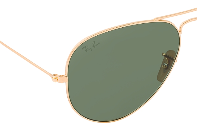 Ray-Ban Aviator large RB 3025 W3400 vista en perspectiva