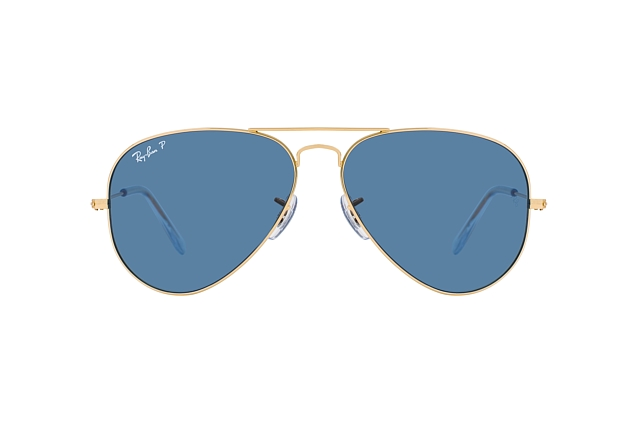 Ray-Ban Aviator large RB 3025 9196/S2 vista en perspectiva