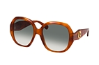 Gucci GG 0796S 001 Havana / Grey perspective view thumbnail