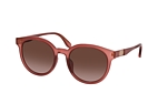 Gucci GG 0794SK 001 Pink / Brown perspective view thumbnail