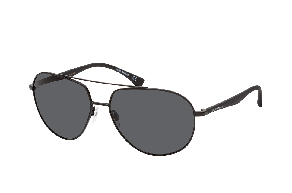 emporio armani -  EA 2096 300187, Aviator Sonnenbrille, Herren