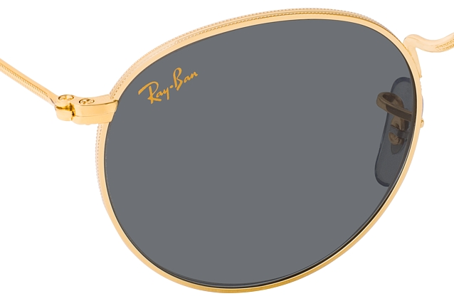 Ray-Ban Round Metal RB 3447 9196R5 perspective view