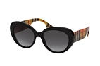 Burberry BE 4298 3001 Black / Brown / Grey perspective view thumbnail