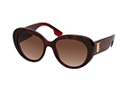 Burberry BE 4298 3001 Havana / Red / Brown perspective view thumbnail