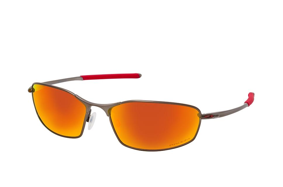 oakley -  Whisker OO 4141 02, Rechteckige Sonnenbrille, Herren
