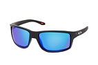 Oakley Gibston OO 9449 13 Black / Polarised grey perspective view thumbnail