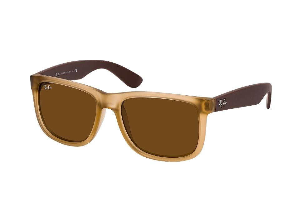 ray-ban -  Justin RB 4165 651073, Quadratische Sonnenbrille, Herren, in Sehstärke erhältlich