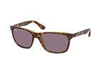 Ray-Ban RB 4181 710/83 Havana / Purple perspective view thumbnail