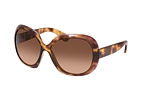Ray-Ban Jackie Ohh II RB 4098 642/V1 Havana / Brown / Pink perspective view thumbnail