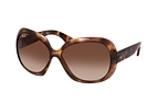 Ray-Ban Jackie Ohh II RB 4098 642/V1 Havana / Brown perspective view thumbnail