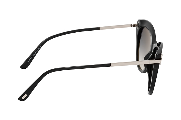 Tom Ford Kira FT 0821 01B perspective view