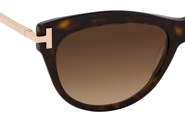 Tom Ford Kira FT 0821 52F vista en perspectiva
