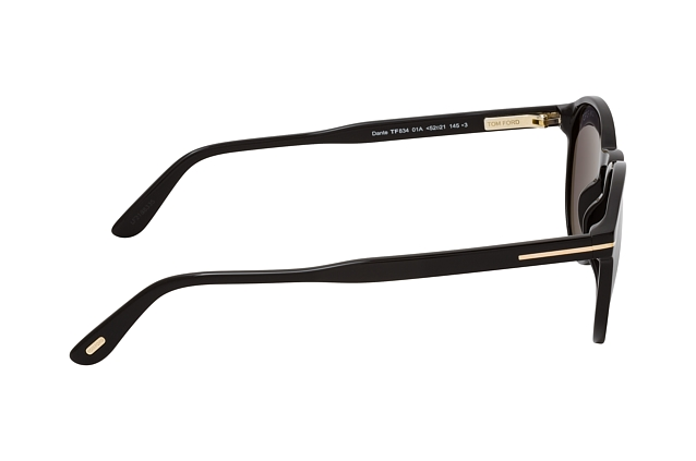 Tom Ford Dante FT 0834 01A vista en perspectiva
