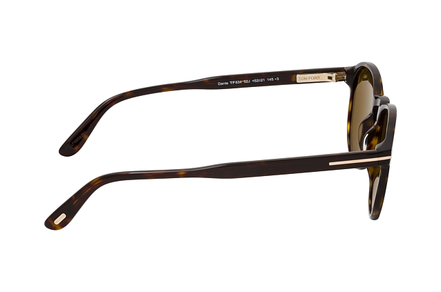 Tom Ford Dante FT 0834 52J vista en perspectiva