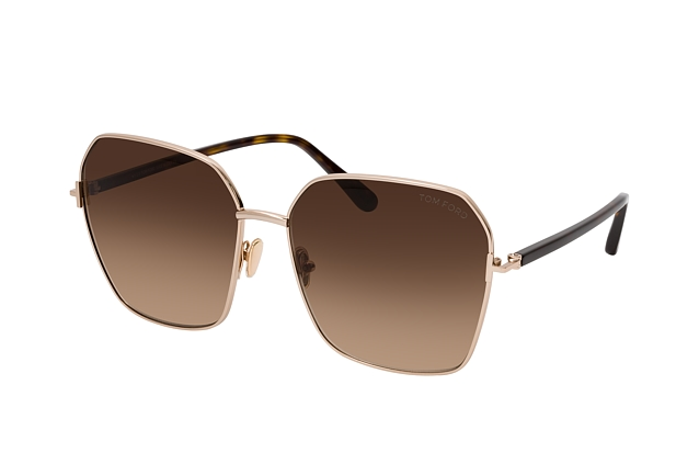 Tom Ford Claudia-02 FT 0839 52F Perspektivenansicht