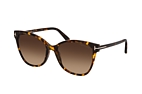 Tom Ford Ani FT 0844 52F Havana / Brown perspective view thumbnail