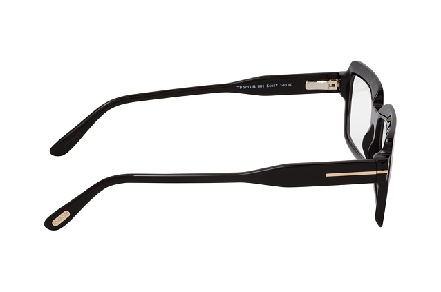 Tom Ford FT 5711-B 001 vista en perspectiva