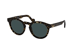 MONCLER ML 0175 52R Havana / Polarised green perspective view thumbnail