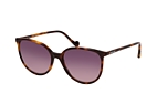 MONCLER ML 0177 52T Havana / Purple perspective view thumbnail