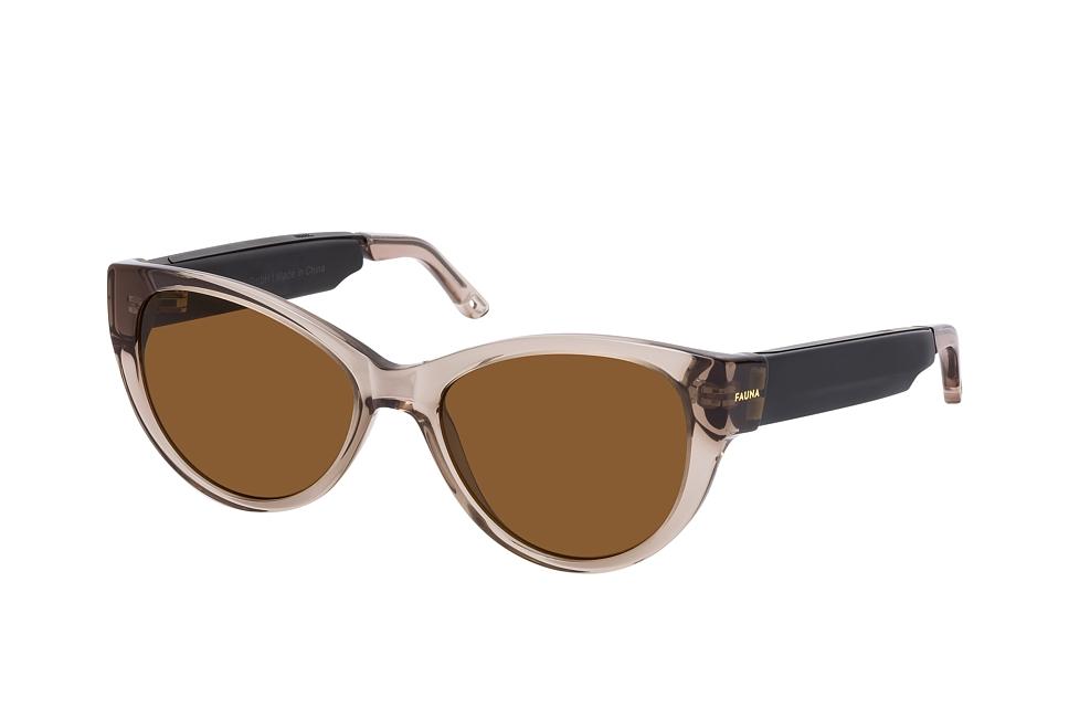 fauna -  Fabula Crystal Brown, Cat Eye Sonnenbrille, Damen, in Sehstärke erhältlich