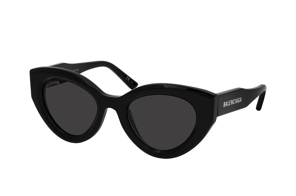balenciaga -  BB 0073S 001, Cat Eye Sonnenbrille, Damen