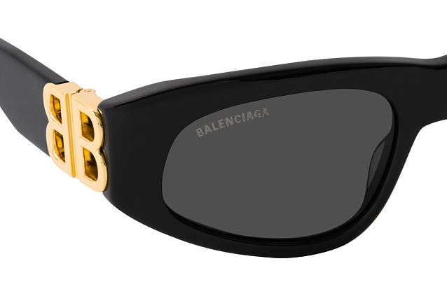 Balenciaga BB 0095S 001 perspective view