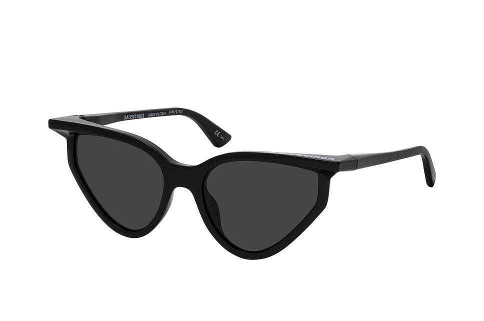 balenciaga -  BB 0101S 001, Cat Eye Sonnenbrille, Damen