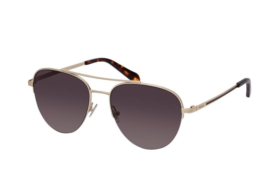 fossil -  FOS 2106/G/S J5G, Aviator Sonnenbrille, Damen, in Sehstärke erhältlich