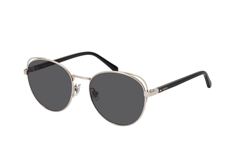 fossil -  FOS 2107/G/S 3YG, Runde Sonnenbrille, Damen, in Sehstärke erhältlich