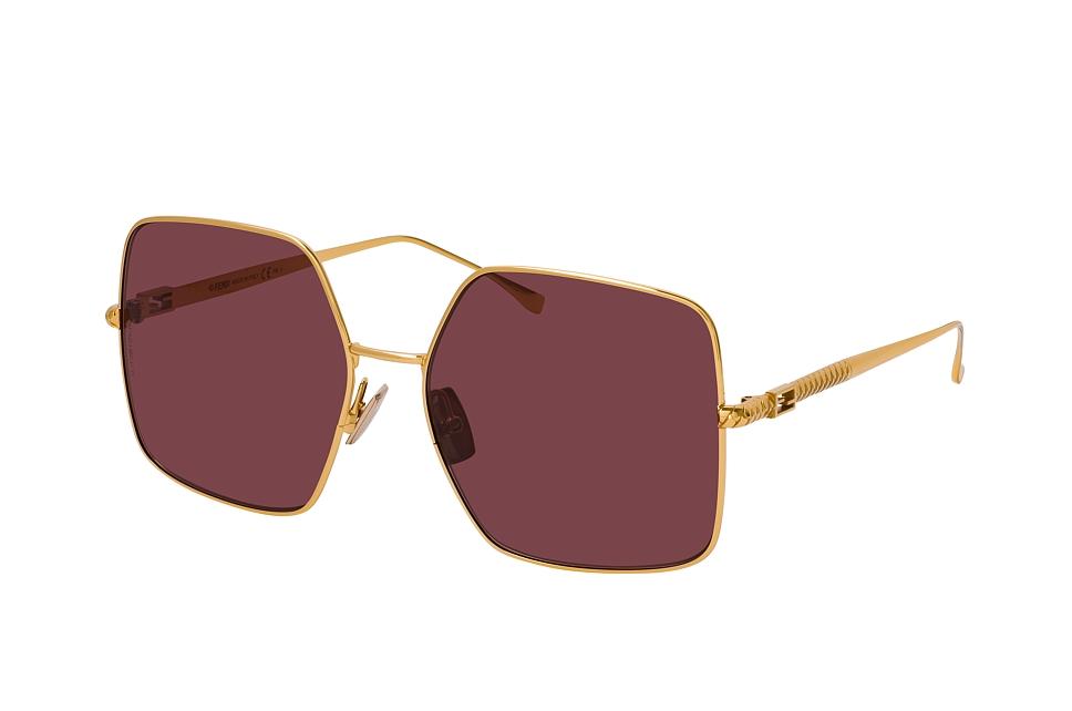 fendi -  FF 0439/S 001, Quadratische Sonnenbrille, Damen