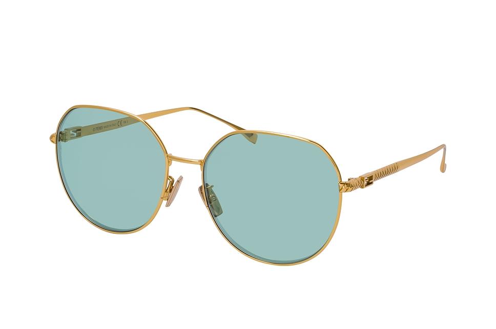 fendi -  FF 0451/F/S 001, Runde Sonnenbrille, Damen