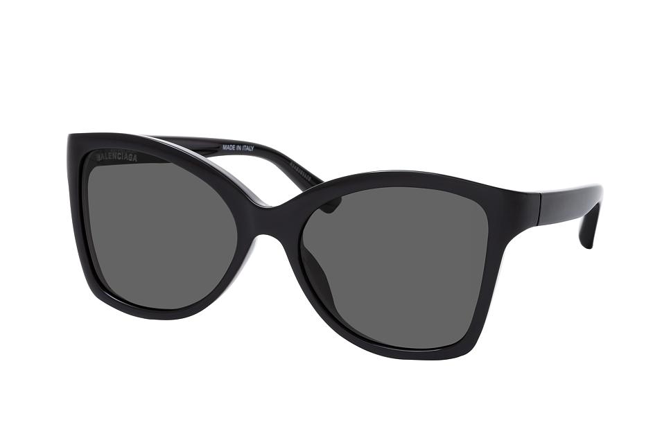 balenciaga -  BB 0150S 001, Cat Eye Sonnenbrille, Damen, in Sehstärke erhältlich