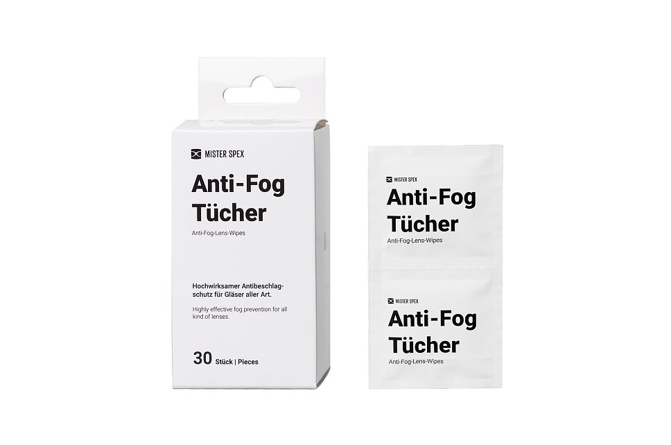 Mister Spex Collection Anti - Fog Tücher Frontansicht