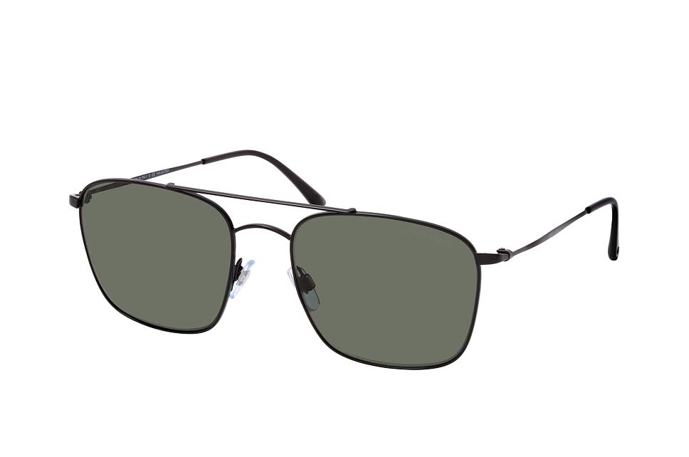 giorgio armani -  AR 6080 30019A, Quadratische Sonnenbrille, Herren, polarisiert, in Sehstärke erhältlich