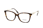 Burberry BE 2336 3002 Havana / Gold perspective view thumbnail