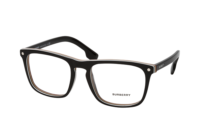 Burberry BE 2340 3798 vue en perpective