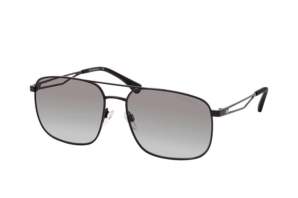 emporio armani -  EA 2106 30018G, Aviator Sonnenbrille, Herren, in Sehstärke erhältlich