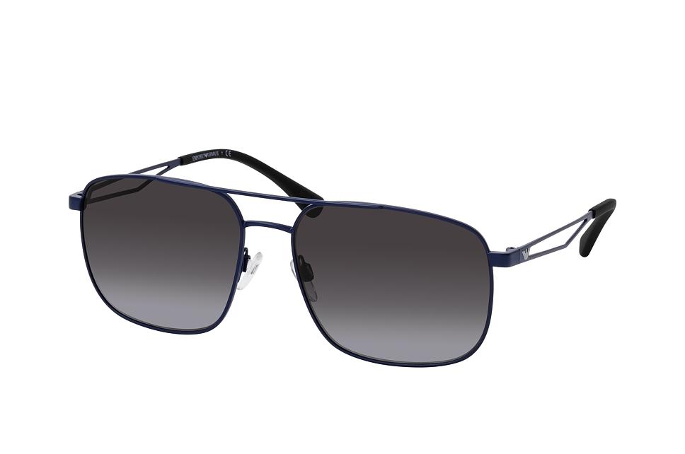 emporio armani -  EA 2106 30188G, Aviator Sonnenbrille, Herren, in Sehstärke erhältlich