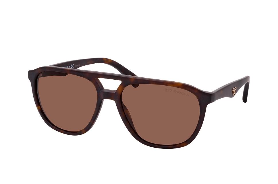 emporio armani -  EA 4156 500273, Aviator Sonnenbrille, Herren, in Sehstärke erhältlich