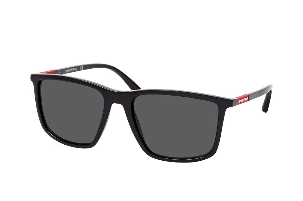 emporio armani -  EA 4161 501787, Quadratische Sonnenbrille, Herren, in Sehstärke erhältlich