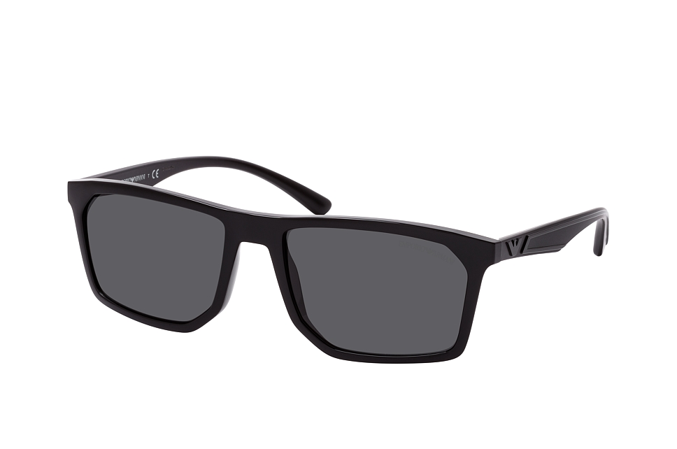 emporio armani -  EA 4164 501787, Quadratische Sonnenbrille, Herren, in Sehstärke erhältlich