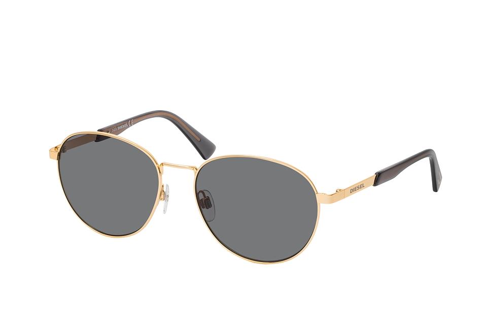 diesel -  DL 0355 30A, Runde Sonnenbrille, Herren, in Sehstärke erhältlich