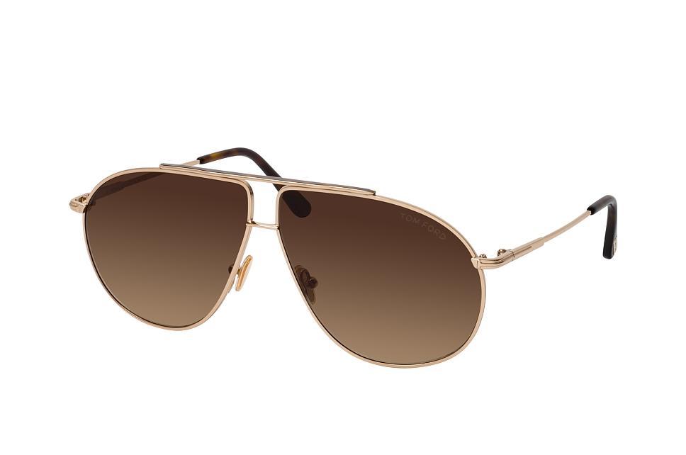 tom ford -  Riley FT 0825 28F, Aviator Sonnenbrille, Herren